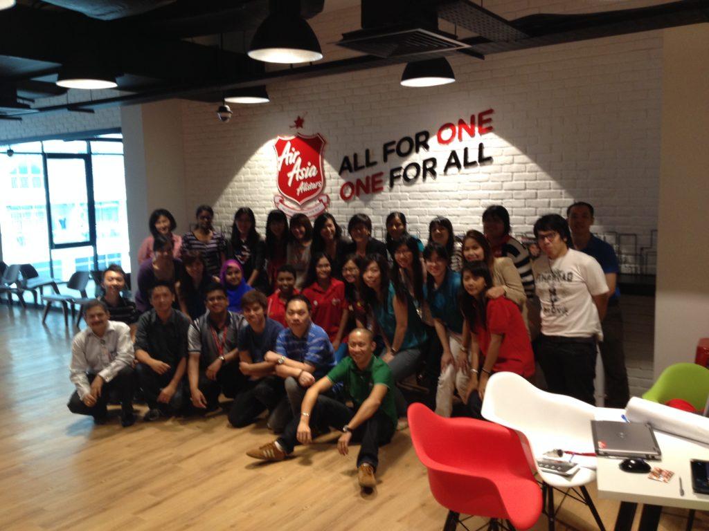 Greenbelt wave for AirAsia team @ Penang