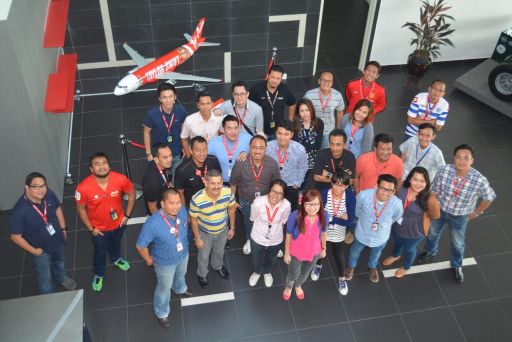 Post Greenbelt class @ AirAsia Academy, Kuala Lumpur, 2015