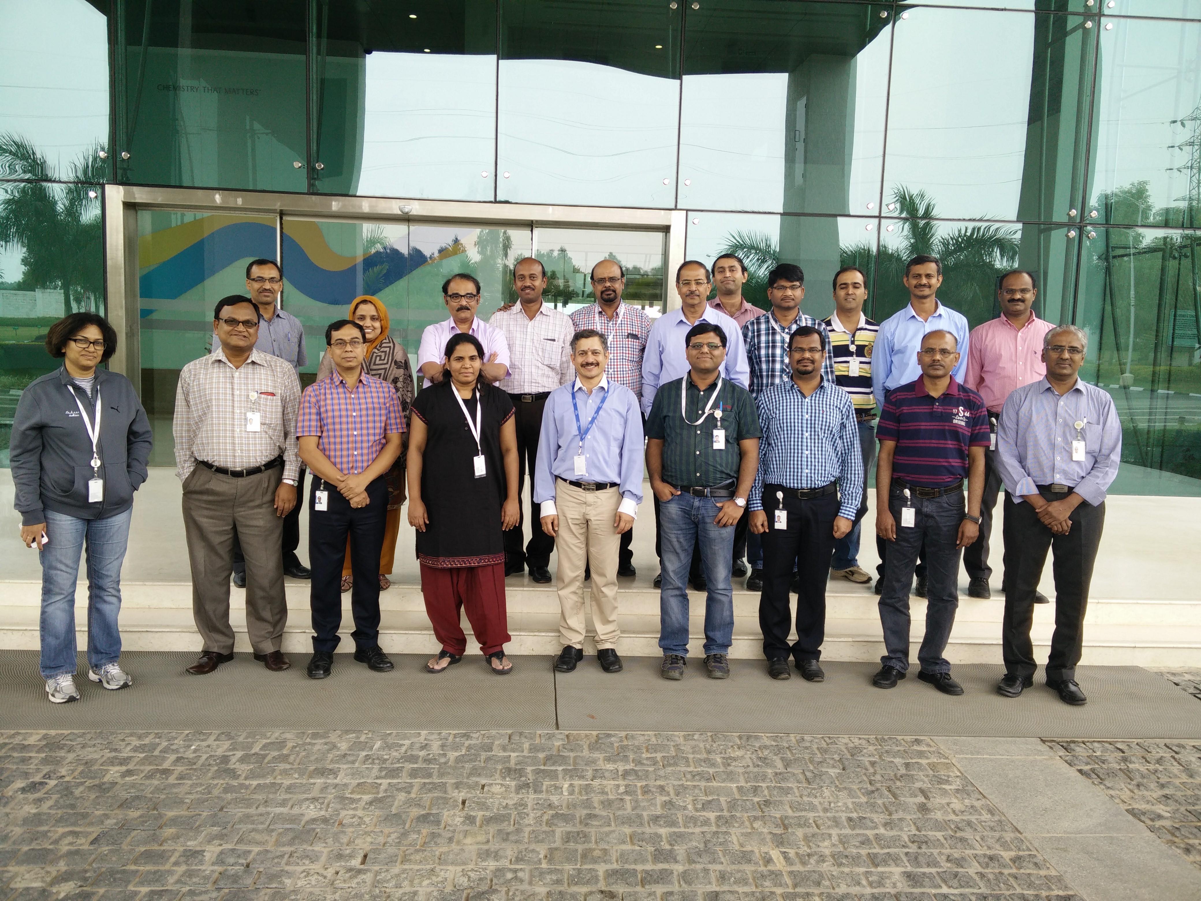 TRIZ level 1 workshop with 6 chief scientists